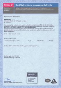 certifikatKvality